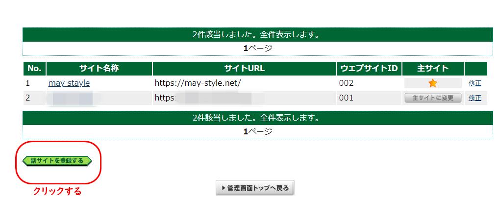 A8ネット 複数サイト 登録方法