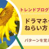 トレンドブログ ドラマネタ VOD